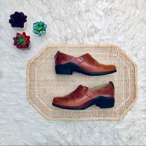 Ariat Leather Paddock Mules Clogs Western